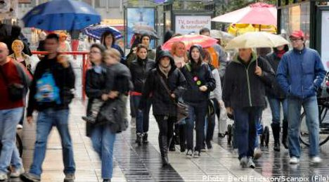 Wet weather set to continue in Sweden