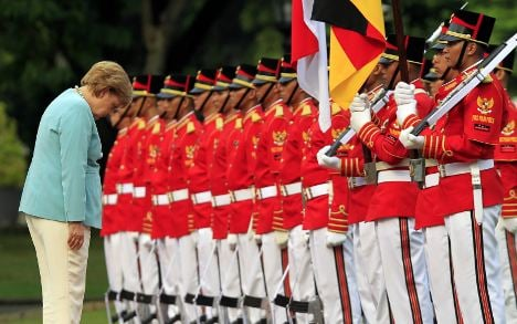 Indonesia tank deal on cards after Merkel trip