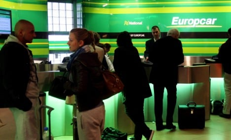 Europcar fined for tracking rental customers