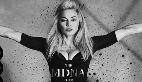 Madonna to broadcast Paris show on YouTube