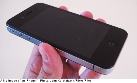 'Exploding iPhone' leaves Swedish man in shock