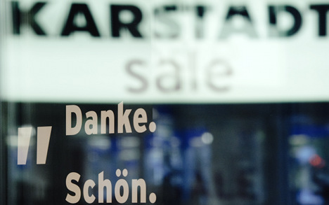 Thousands of jobs to go at Karstadt and RWE