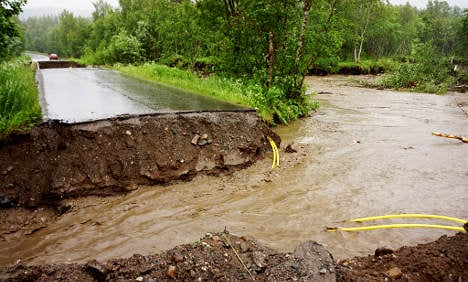 Northern Norway hit by major flooding
