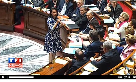 MPs taunt dress-wearing French minister