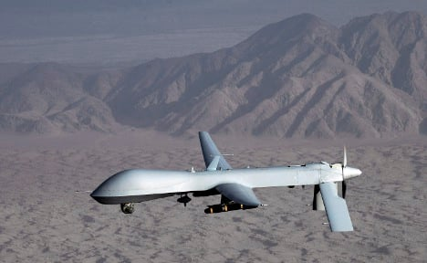 Germany considers using armed combat drones