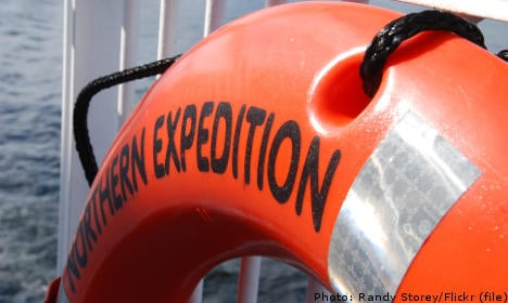 Man lost at sea off Sweden's west coast