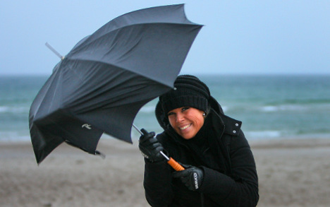 German travel agents 'only happy when it rains'