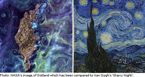 Gotland pic voted top in NASA 'Earth as Art' poll