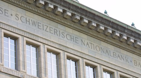 Negative rates mulled to lower Swiss franc