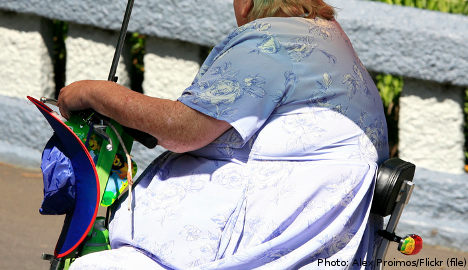 Swede 'too heavy' for disabled transport