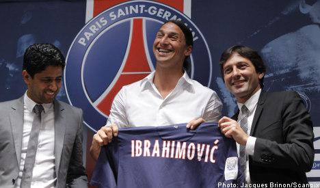 Zlatan at PSG unveiling: 'I came here to win'