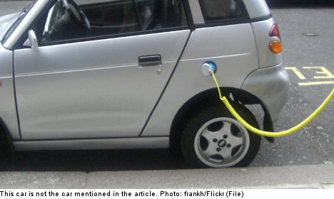 Swedes slow to cash in on electric car subsidy