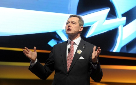 Head of GM Europe and Opel resigns