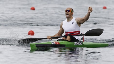 Canoeist snags Norway's first Olympic gold