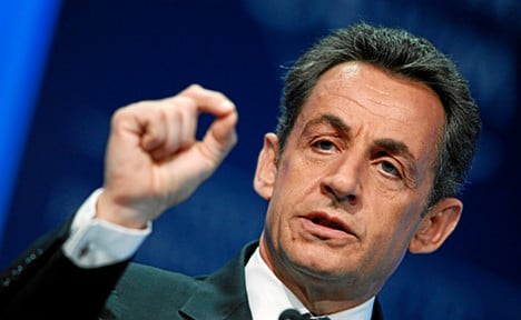 Sarkozy slammed after call for action on Syria