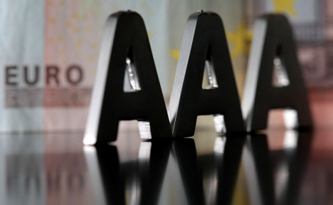 Top marks for Germany from US ratings agency