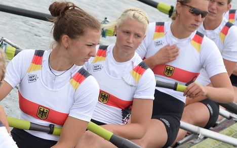 Germany ditches rower over 'neo-Nazi lover'