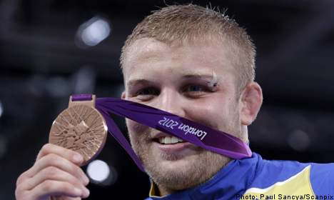 Swede takes home Olympic wrestling bronze
