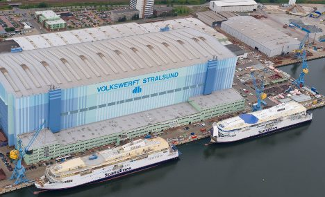 Workers fear for jobs as shipbuilder goes belly up