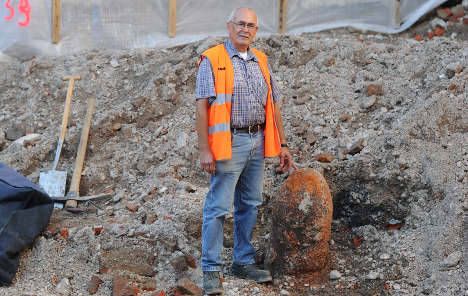 WWII bomb forces central Munich evacuation