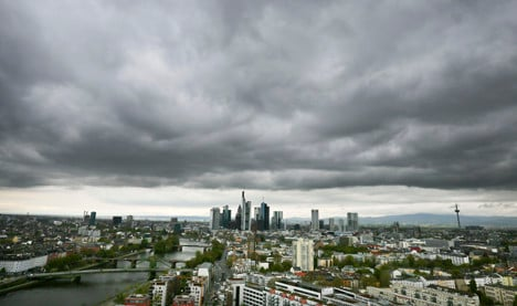 Survey: Private sector downturn in Germany