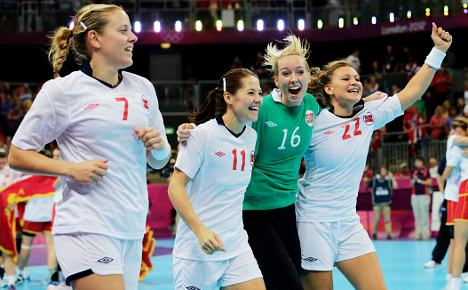 Norway handball gold eases Olympic dismay