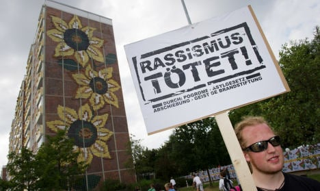 'Racism the problem' – 20 years after Rostock