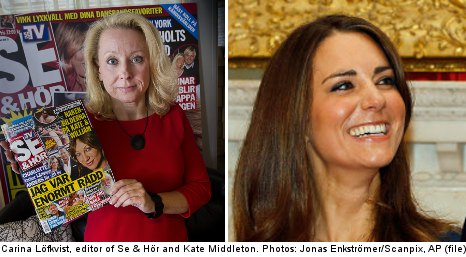 Why didn't Sweden care about topless Kate pics?