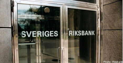 Sweden cuts repo rate as economy slows