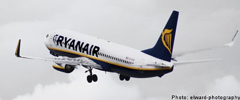 Swedes left stranded as Ryanair flight goes empty