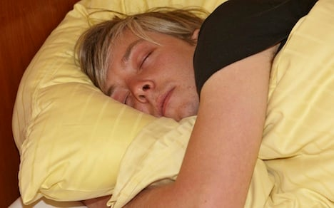 Young Germans 'not getting enough sleep'