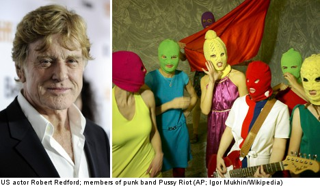 Power, Pussy Riot and Redford hit Stockholm