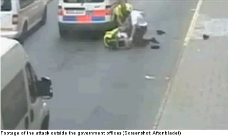 Man freed after attack on PM's bodyguard