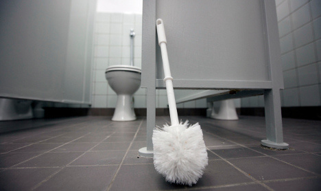 Kids ill after 'refusing to use smelly school loos'