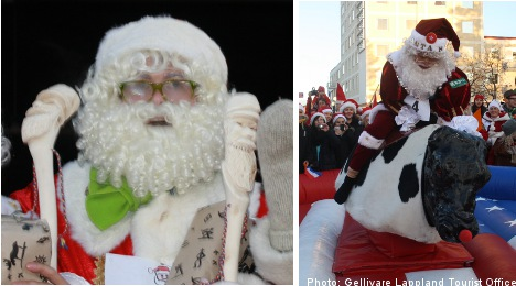 Santa Winter Games draw Christmas lovers to the Arctic