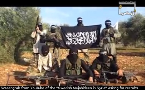 Muslim Swedes told to join Syrian war effort