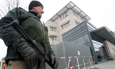 Embassy attack prompts Berlin security spat