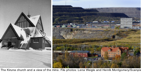 Kiruna to be moved over ore and potential ire