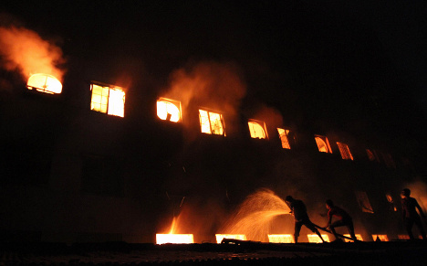 Retailers consider factory fire safety push