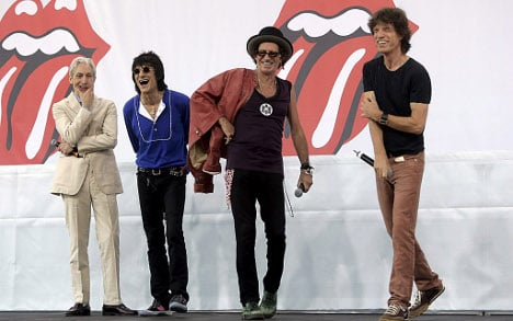 Official wants Stones to rock Stasi archive