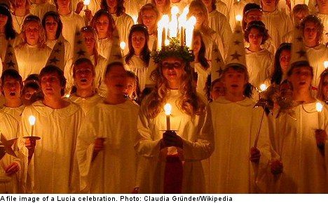'Angels have nothing to do with Christmas in Sweden'