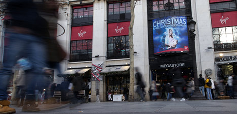 French Virgin stores bust as world goes digital