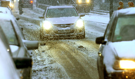 Icy roads cause widespread traffic chaos