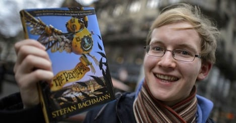 Precocious Swiss-American teen strikes gold with debut novel