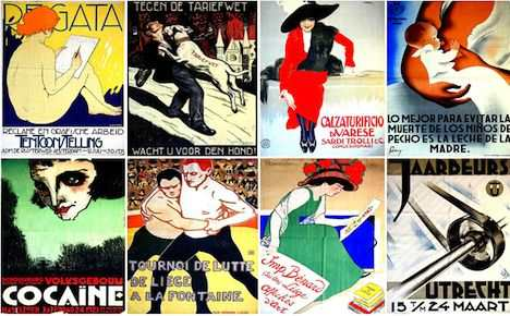 Rare vintage posters up for sale in US auction
