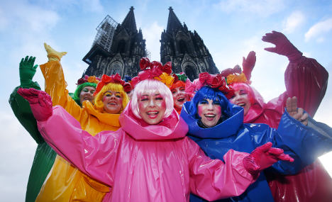 Chilly Karneval kicks off in the Rhineland