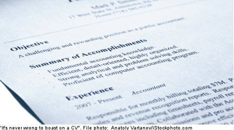 Quick tips for writing the perfect Swedish CV