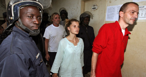 Charity staff jailed for African child-smuggling