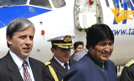 Bolivia clips wings of Spanish airport firm