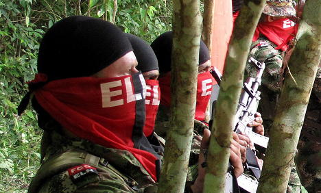 Colombian rebels claim to have German hostages